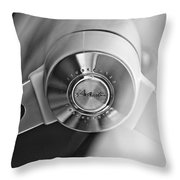1963 Studebaker Avanti Steering Wheel Throw Pillow