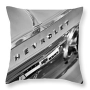 1964 Chevrolet Impala Taillights And Emblems Throw Pillow