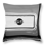 1966 Chevrolet II Ss L79 Taillight Emblem Throw Pillow
