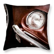 1969 Ford Mustang Mach 1 Front End Throw Pillow