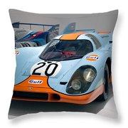 1970 Porsche 917 Kh Coupe Throw Pillow