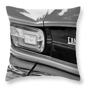 1971 Iso Grifo Can Am Taillight Emblem Throw Pillow