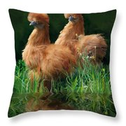 54. 2 Buffs This One Can Be Printed Throw Pillow