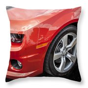 2012 Chevy Camaro Ss  Throw Pillow