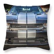 2013 Dodge Challenger Srt Throw Pillow
