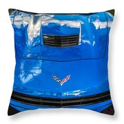 2014 Chevrolet Corvette C7   Throw Pillow