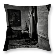 A Cell In Santa Barbara Mission Throw Pillow
