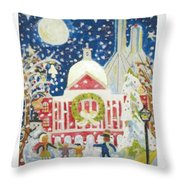 A Holiday Affair Throw Pillow