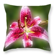 A Lilly For You Throw Pillow