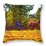 A Simpler Time Throw Pillow