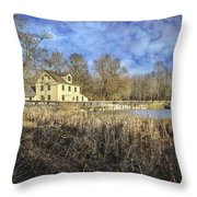 Abbott's Mill Throw Pillow