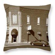 Abilene Kansas - 2nd And Broadway Throw Pillow