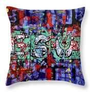 Above All Names Throw Pillow