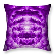Abstract 127 Throw Pillow