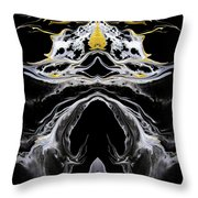 Abstract 138 Throw Pillow