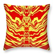 Abstract 48 Throw Pillow