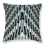 Abstract Buildings 4 Throw Pillow