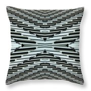 Abstract Buildings 5 Throw Pillow