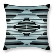 Abstract Buildings 6 Throw Pillow