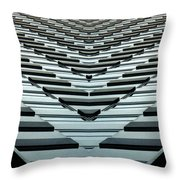 Abstract Buildings 7 Throw Pillow