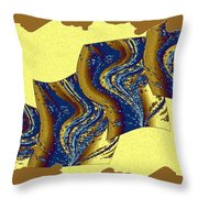 Abstract Fusion 177 Throw Pillow