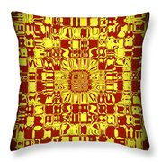 Abstract Series 10 Throw Pillow