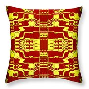 Abstract Series 2 Throw Pillow by J D Owen