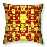 Abstract Series 4 Throw Pillow