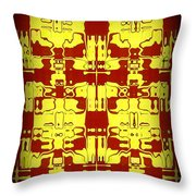 Abstract Series 5 Throw Pillow
