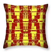 Abstract Series 7 Throw Pillow
