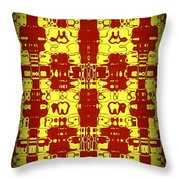 Abstract Series 8 Throw Pillow