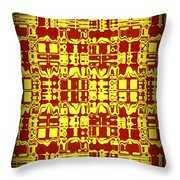 Abstract Series 9 Throw Pillow