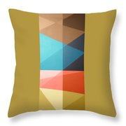 Abstract Transparency Throw Pillow