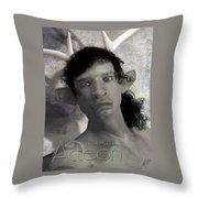 Actaeon Greek  Throw Pillow