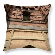 Agra Fort In India Throw Pillow
