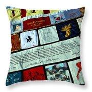Aids Quilt -- 1 Throw Pillow