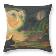 Aires Rising Throw Pillow