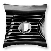 Alfa-romeo Grille Emblem Throw Pillow