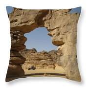 Algeria Desert Throw Pillow