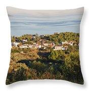 Alonissos Island Throw Pillow