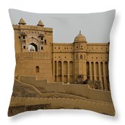 Amber Fort, India Throw Pillow