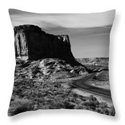 American West Throw Pillow
