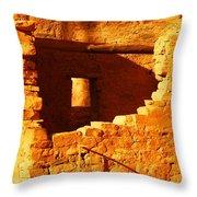 Anasazi Ruins Throw Pillow