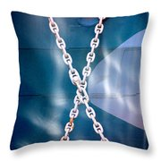 Anchored Throw Pillow