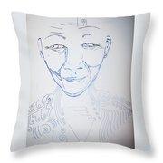 Angel Madiba - Nelson Mandela Throw Pillow