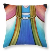 Angel Of Destiny Throw Pillow