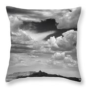 Angel Peak Throw Pillow