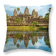 Angkor Wat - Cambodia Throw Pillow