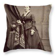 Ann Eliza Young (1844-1925) Throw Pillow