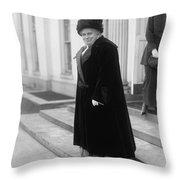 Anna Howard Shaw Throw Pillow